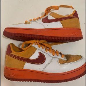 Air Force 1 2007 'China' Mens Sneakers Good 7.5